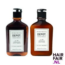 Depot 101 Normalizing Daily Shampoo & 201 Refreshing Conditioner 250ml