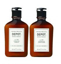 Depot 103 Hydrating shampoo & 201 Refreshing Conditioner 250ml