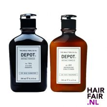 Depot 104 Silver Shampoo & 201 Refreshing Conditioner 250ml