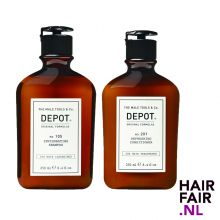 Depot 105 Invigorating Shampoo & 201 Refreshing conditioner 250ml