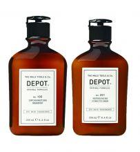 Depot 105 Invigorating Shampoo & 201 Refreshing conditioner 250ml