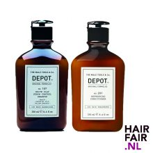 Depot 107 White Sebum 250ml & 201 Refreshing Conditioner 250ml