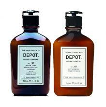 Depot 107 White Sebum 250ml & 201 Refreshing Conditioner 250ml