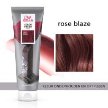 Wella Color Fresh Mask Rose Blaze 150ml