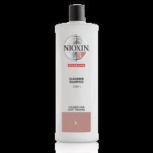 Nioxin System 3 Cleanser Shampoo 1000 ml