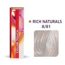 Wella Color Touch Rich Naturals 8/81 60ml