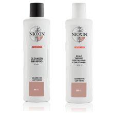 Nioxin System 3 Cleanser Shampoo & Scalp Revitaliser Conditioner 300ml