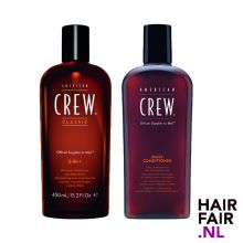 American Crew 3 In 1 450ml & Daily conditioner 250ml