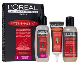 L'Oreal Interphase Natural Hair Kit 1