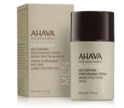 Ahava Men Age Control Moisturizing Gezichtscrème SPF15 50ml