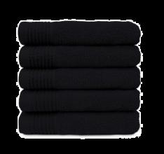 Bob Tuo Handdoeken 12 Stuks Zwart