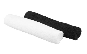 Bob Tuo Mini Handdoeken 12 Stuks Zwart