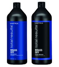 Matrix Total Results Brass Off Shampoo & Conditioner 1000ml