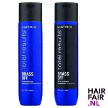 Matrix Total Results Brass Off Shampoo & Conditioner 300ml