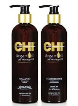CHI Argan Oil Duo Shampoo+ Conditioner 340ml