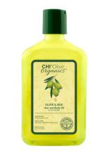 CHI Olive Organics Olive & Silk Hair and Body Oil 251ml