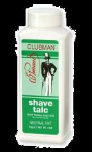 Clubman Pinaud Talc Talkpoeder Neutral Tint 255ml