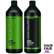 Matrix Total Results Curl Please Shampoo & Conditioner 1000ml