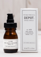 Depot 403 Pre-Shave & Softening Beard Oil 30ml
