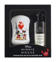 Dessata Disney Gift Set Mickey & Minnie Maxi Size Hairbrush & Minnie Hair Conditioning Cream 150 ml