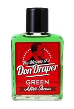 Don Draper Aftershave Groen 100ml