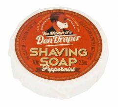 Don Draper Shaving Soap Peppermint 70gr