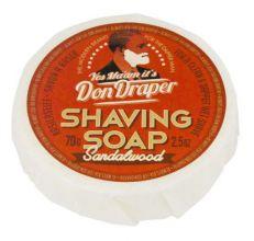 Don Draper Shaving Soap Sandalwood 70gr