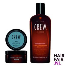 American Crew Fiber 85gr & Daily Moisturizing Shampoo 250ml