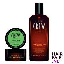American Crew Forming Cream 85gr & Daily Moisturizing Shampoo 250ml
