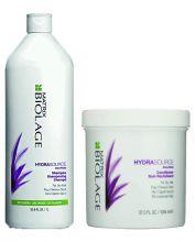 Matrix Biolage Hydrasource Shampoo 1000ml & Conditioner 1094ml