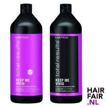 Matrix Total Restults Keep Me Vivid Shampoo & Conditioner 1000ml