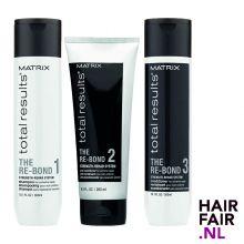 Matrix Total Results Re-Bond Shampoo 300ml, Pre-Conditioner 200ml & Conditioner 300ml