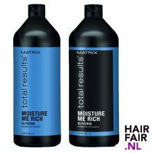 Matrix Total Results Moisture Me Rich Shampoo & Conditioner 1000ml