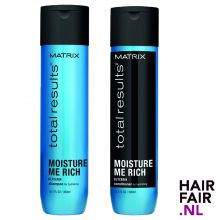 Matrix Total Results Moisture Me Rich Shampoo & Conditioner 300ml