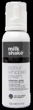 Milk Shake Coloured Whipped Cream Intense Grey 100ml