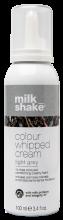 Milk Shake Coloured Whipped Cream Light Grey 100ml