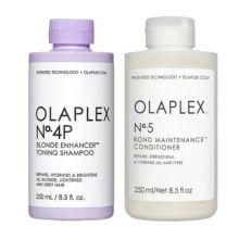 Olaplex No.4P Blonde Shampoo & No.5 Conditioner 250ml