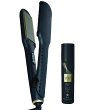 GHD V Gold Serie Max Stijltang Met Gratis GHD Straight On Straight And Smooth Spray 120ml