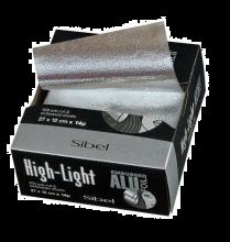 Sibel Aluminiumfolie vellen met reliëf 300 stuks