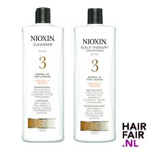 Nioxin System 3 Cleanser Shampoo & Scalp Revitaliser Conditioner 1000ml
