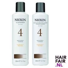 Nioxin System 4 Cleanser Shampoo & Scalp Revitaliser Conditioner 300ml