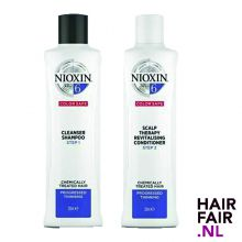 Nioxin System 6 Cleanser Shampoo & Scalp Revitaliser Conditioner 300ml