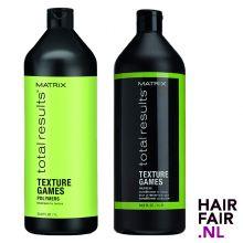 Matrix Total Results Texture Games Shampoo & Conditioner 1000ml
