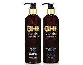 CHI Argan Oil Duo Shampoo+ Conditioner 340ml