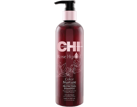 CHI Rose Hip Oil Protecting Shampoo 355 ml
