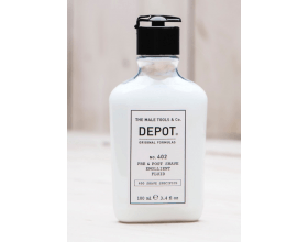 Depot 402 Pre & Post Shave Emollient Fluid 100ml