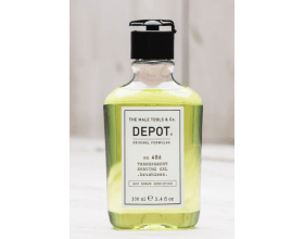 Depot 406 Transparent Shaving Gel 100ml