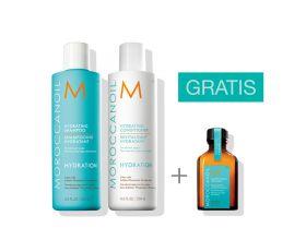 Moroccanoil Hydration Duo 250 ml met gratis 25 ml treatment
