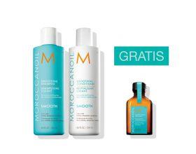 Moroccanoil Smoothing Duo 250ml met gratis 25 ml treatment