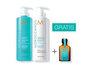 Moroccanoil Smoothing Duo 500ml met gratis 25 ml treatment